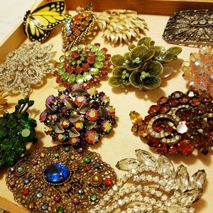 ⛏Vintage❤ Brooches and Pins